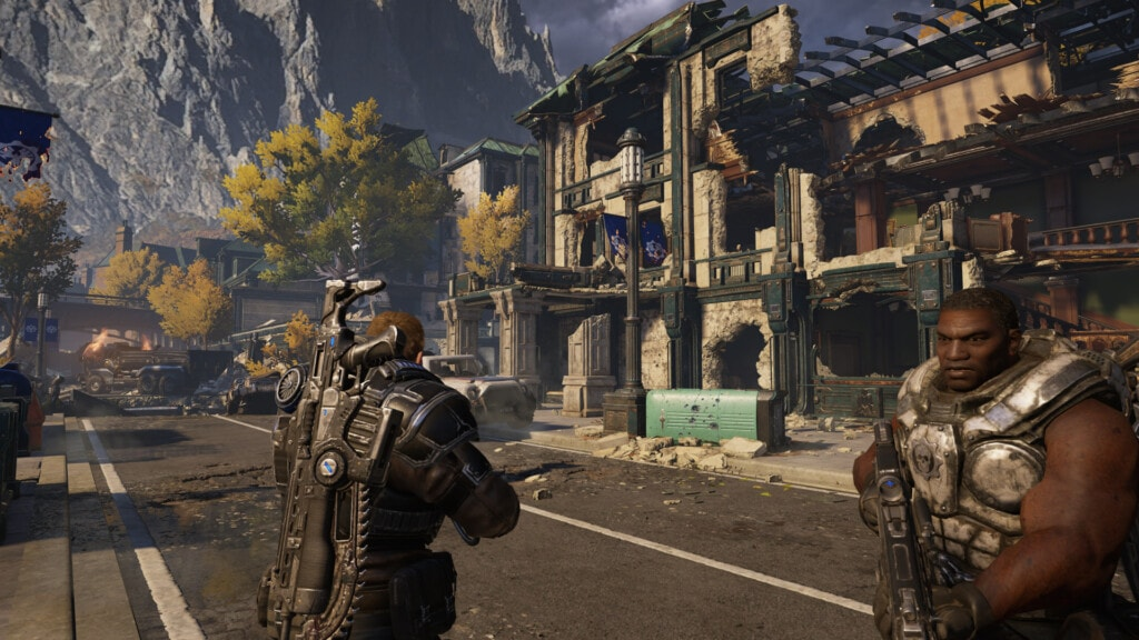 Xbox Game Pass gry na 2 osoby - seria Gears of War