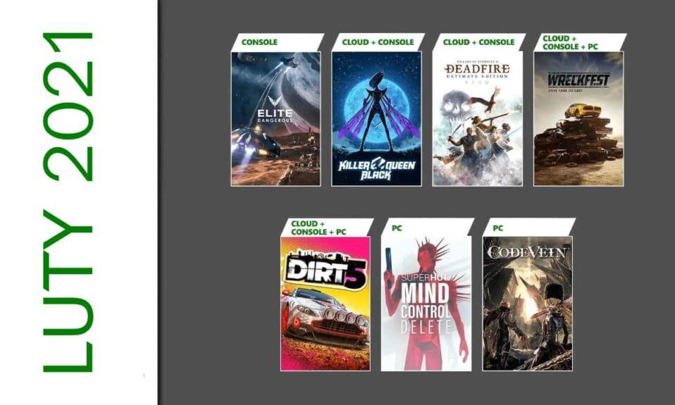 Gra miesiąca w Xbox Game Pass - luty 2021
