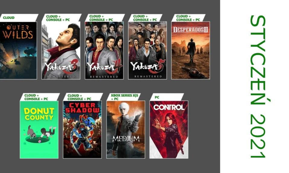 Najlepsza gra z Xbox Game Pass 2021 w styczniu - ankieta