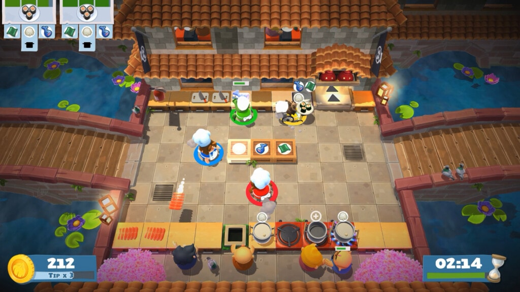 Xbox Game Pass gry na 2 osoby - Overcooked 2