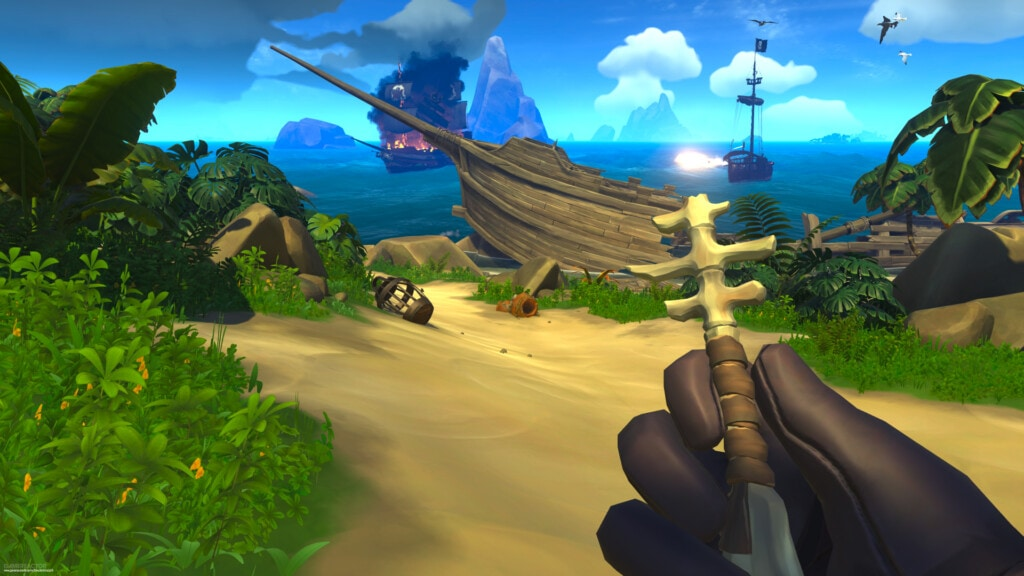 Xbox Game Pass gry na 2 osoby - Sea of Thieves