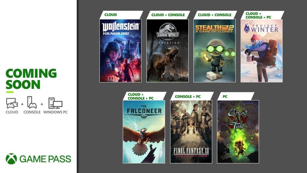Xbox Game Pass Luty 2021 nowe gry