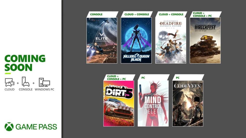 Xbox Game Pass luty 2021 druga połowa miesiąca