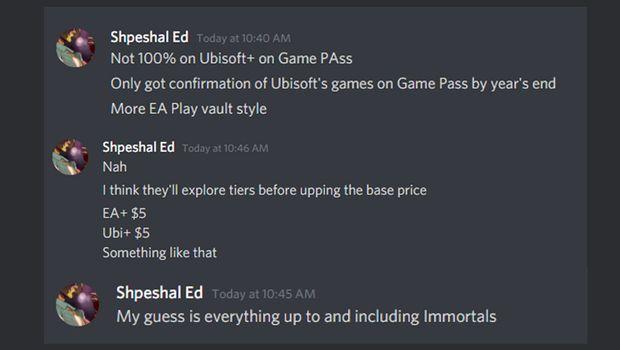 Shpeshal Ed o grach Ubisoftu w Xbox Game Pass