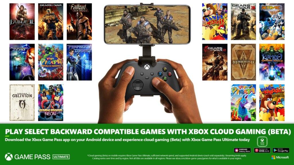 Xbox Game Pass Ultimate nowe gry dostępne w chmurze