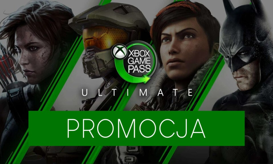 Tani Xbox Game Pass Ultimate promocja
