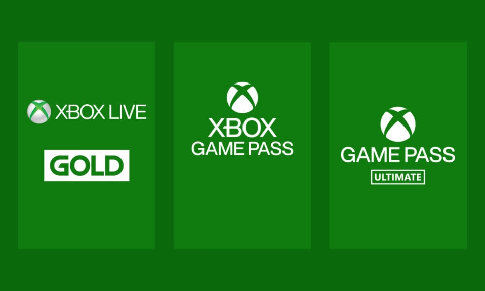 Xbox Live Gold, Xbox Game Pass, Xbox Game Pass Ultimate