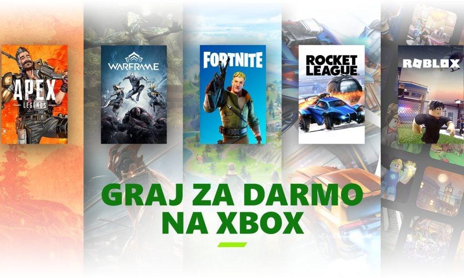 Darmowe gry wieloosobowe bez Xbox Live Gold