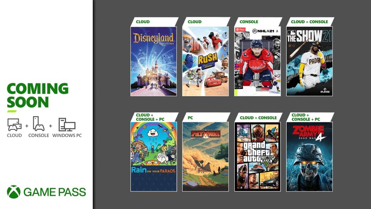 Xbox Game pass kwiecień 2021 - pierwsza połowa gier
