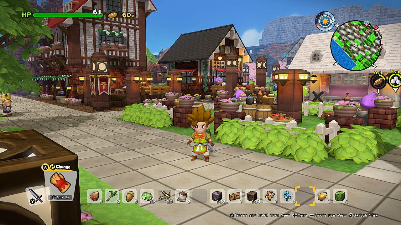 Dragon Quest Builders 2 - Xbox Game Pass gry dla dzieci