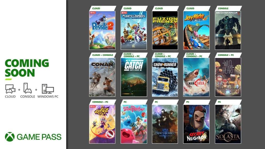 Gry w Xbox Game Pass na drugąpołowę maja 2021