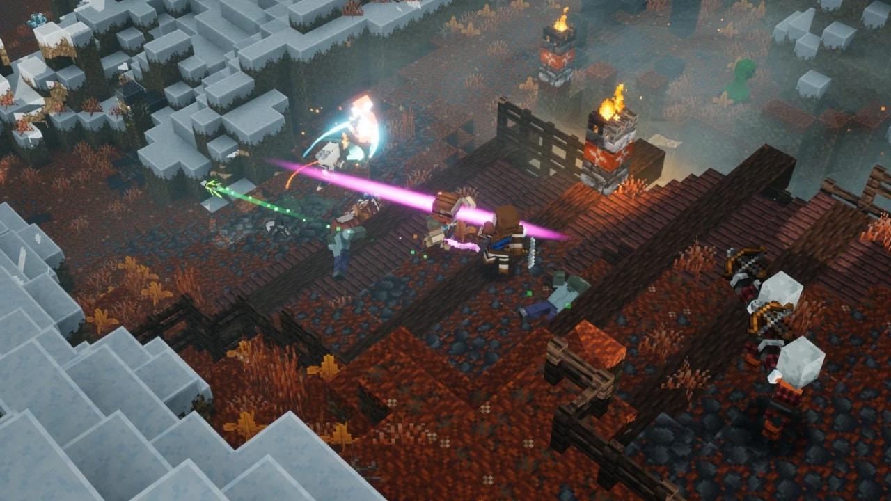 Minecraft Dungeons - Xbox Game Pass gry dla dzieci