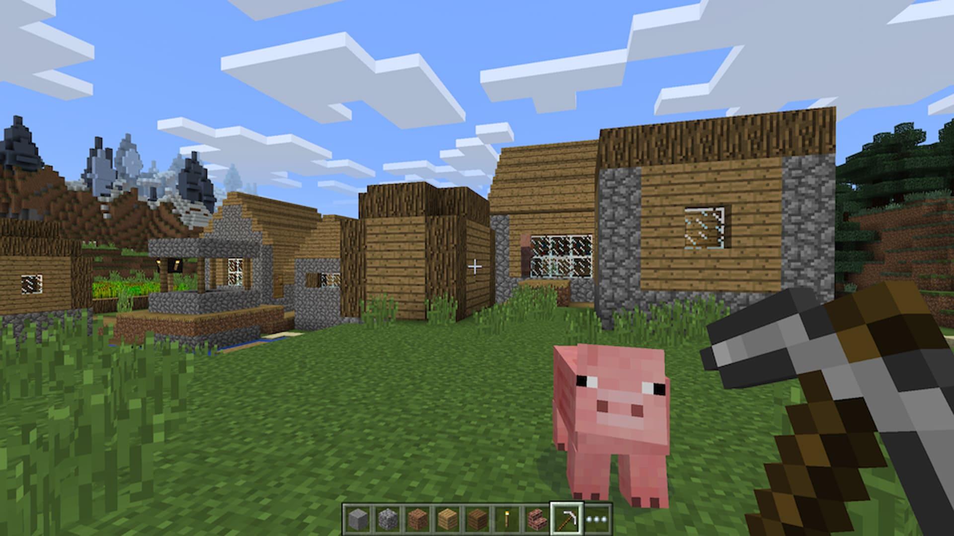 Minecraft - Xbox Game Pass gry dla dzieci