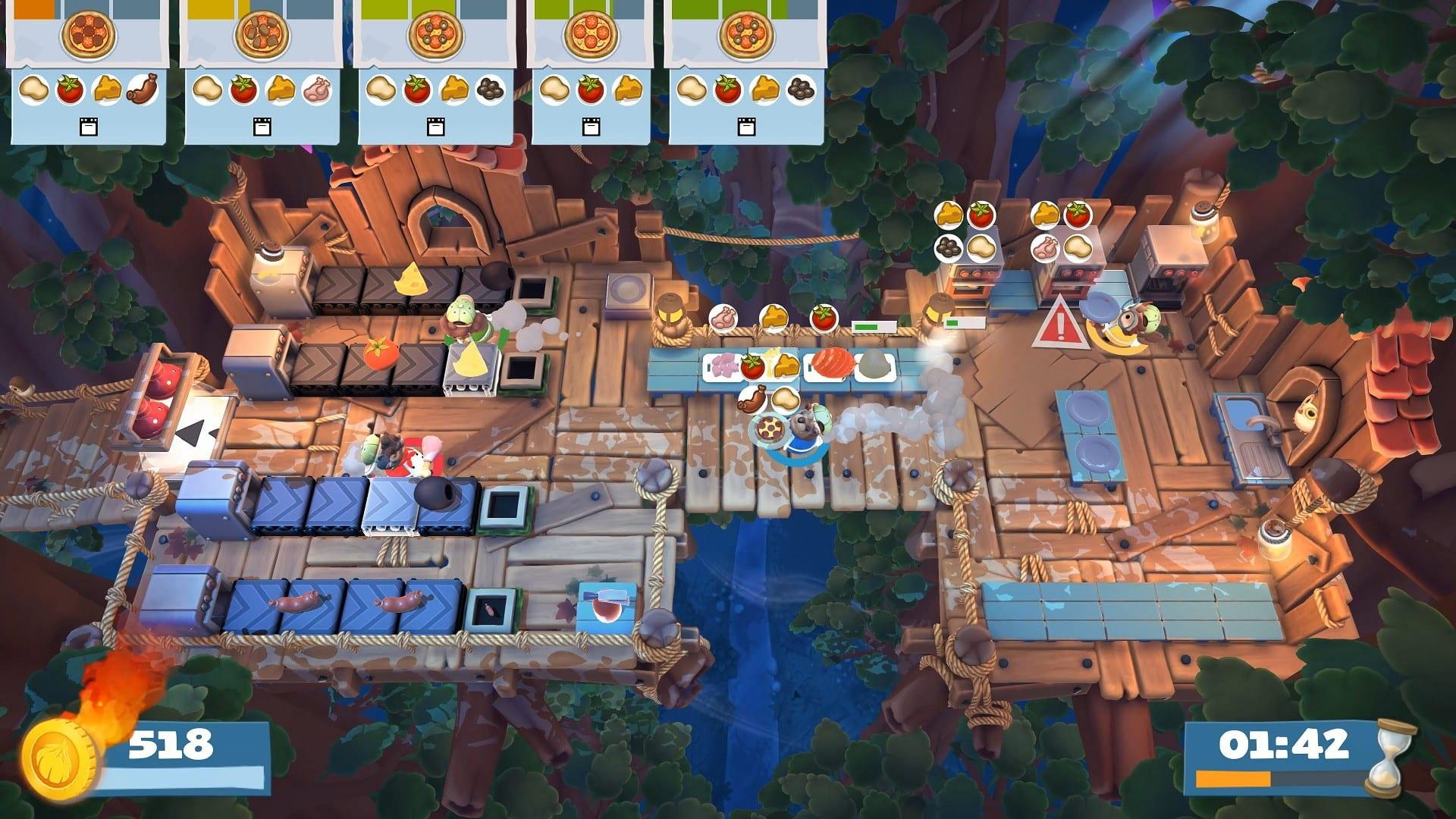 Overcooked 2 - Xbox Game Pass gry dla dzieci