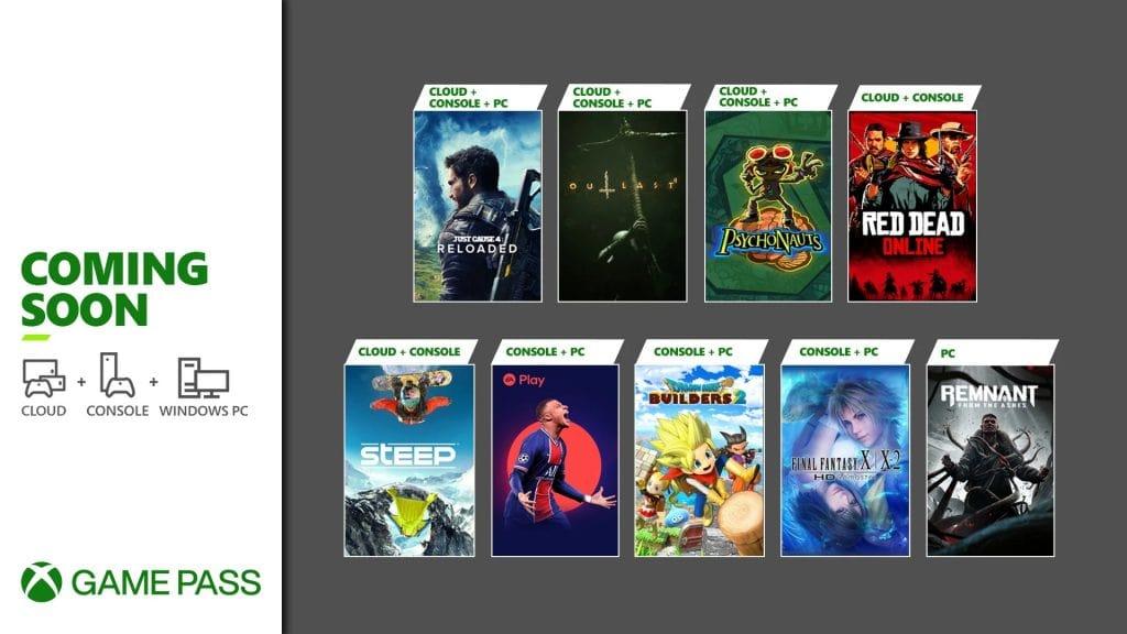Xbox Game Pass pierwsze gry maja 2021