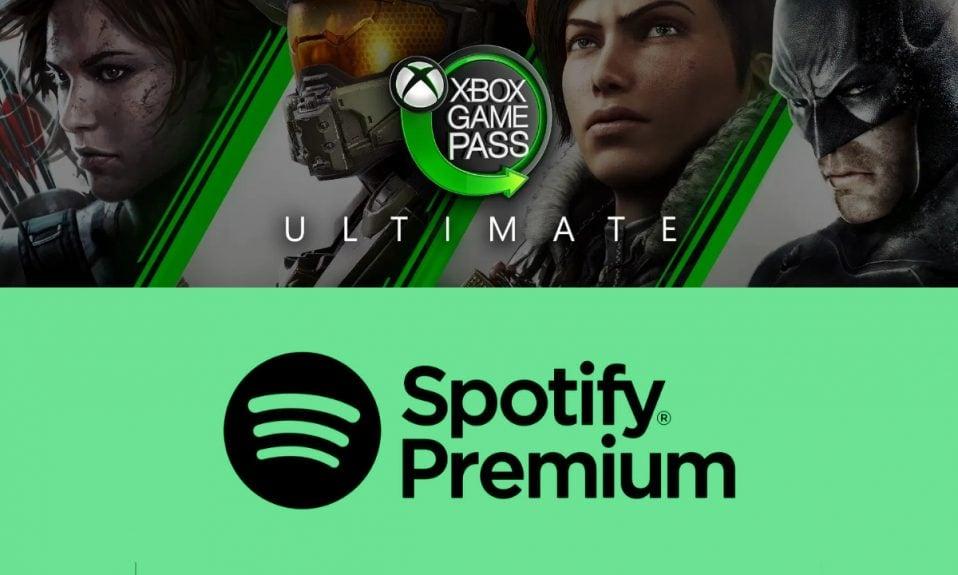 Xbox Game Pass Ultimate Spotify Premium