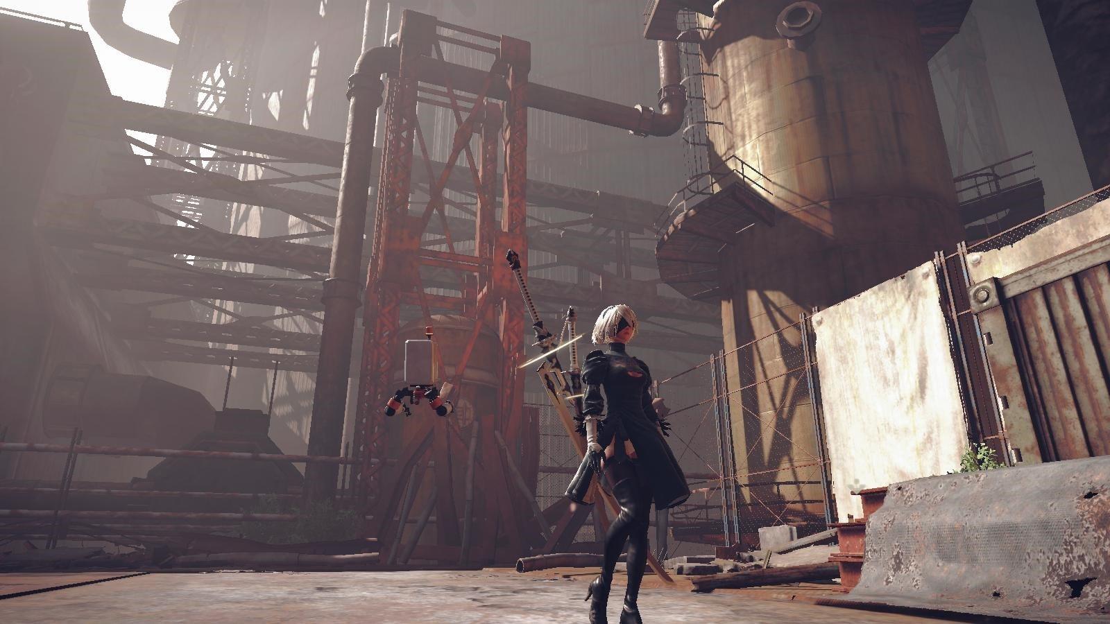 Xbox Game Pass gry najlepsza fabuła - NieR: Automata
