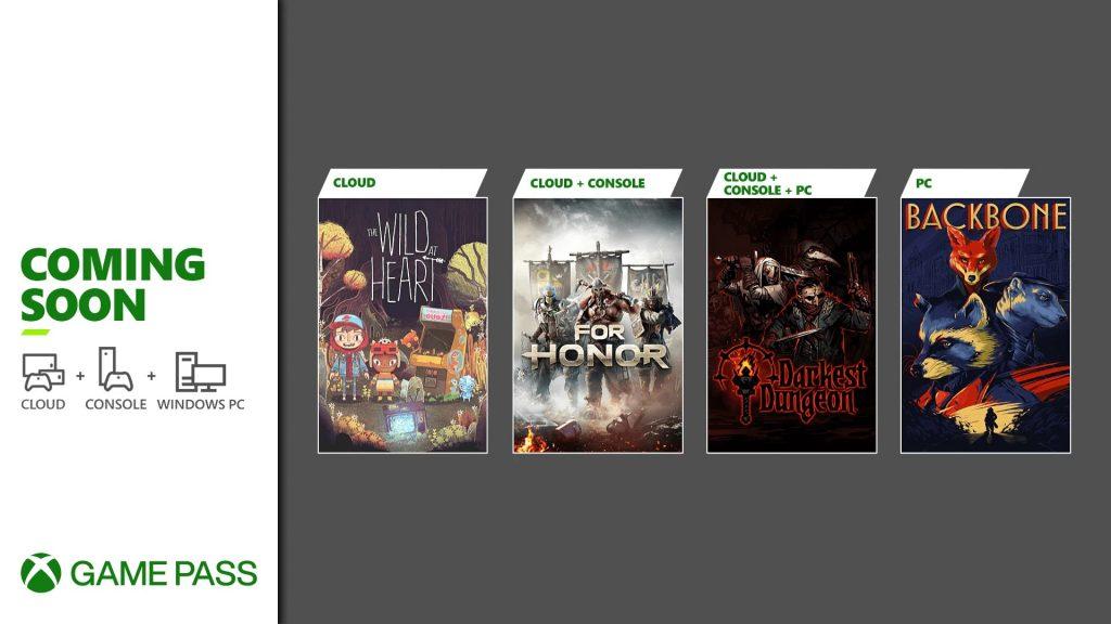 Xbox Game Pass czerwiec 2021 pierwsza połowa
