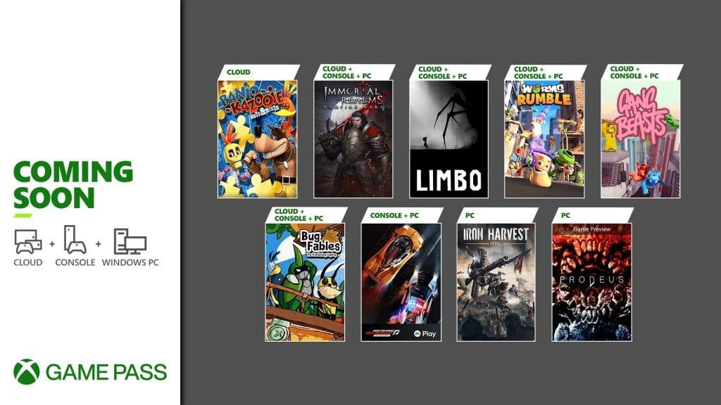 Xbox Game Pass gry na drugąpołowę czerwca