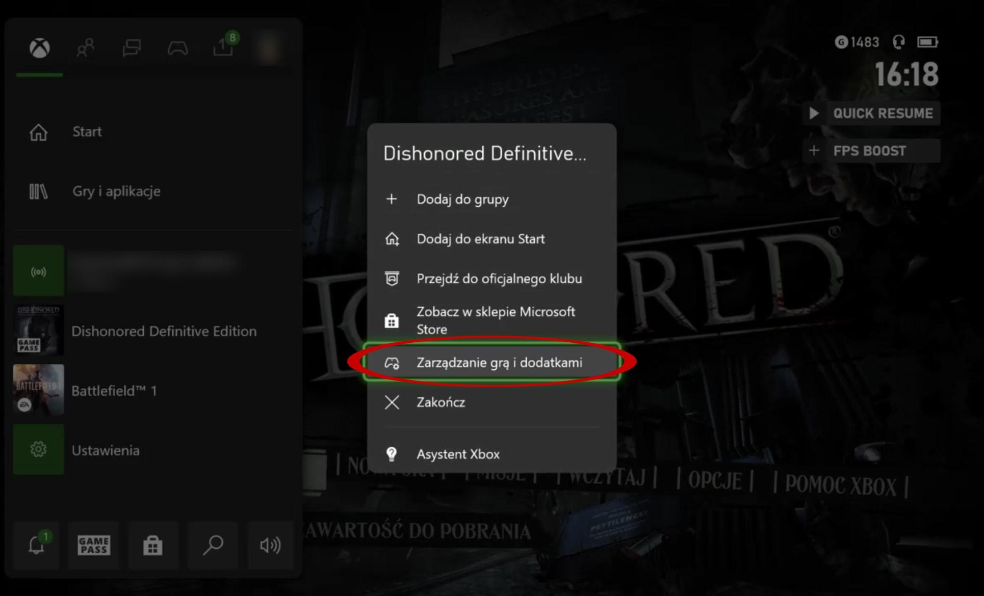 Jak włączyć FPS Boost