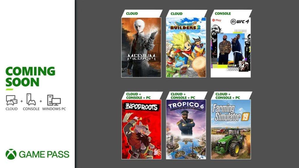 Xbox Game Pass lipiec 2021 kolejne gry