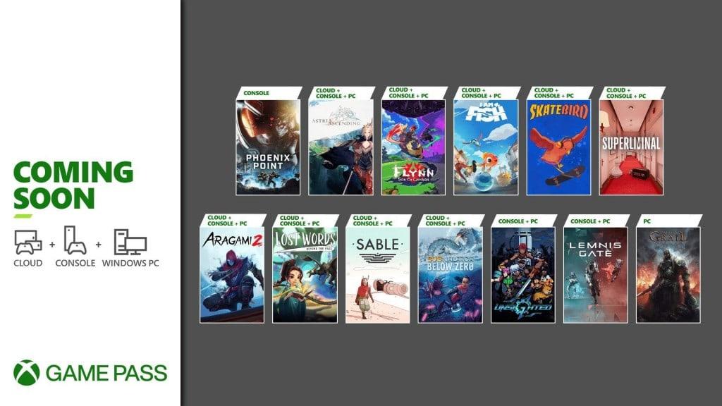 Xbox Game Pass wrzesień 2021 - druga połowa miesiąca