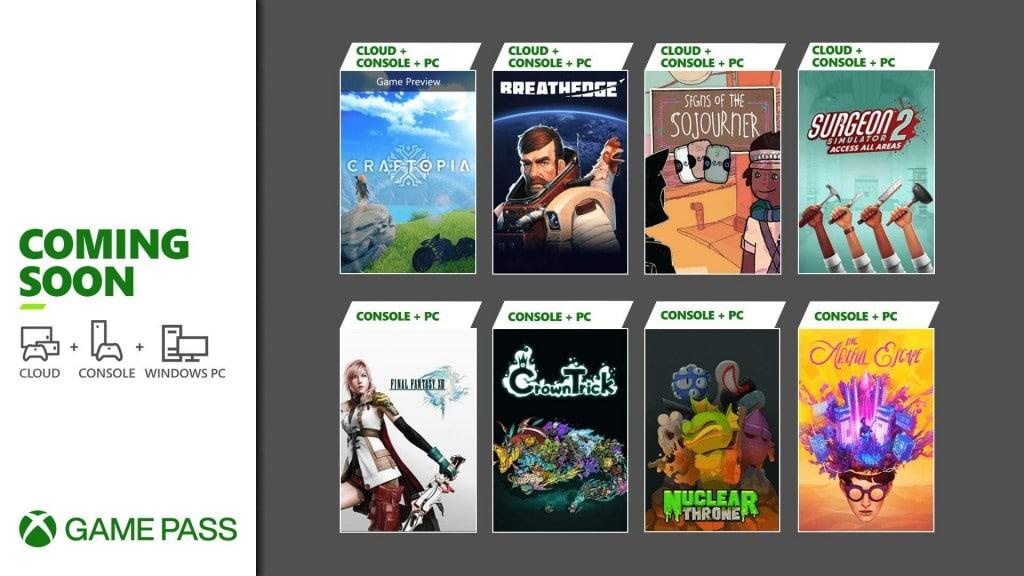 Xbox Game Pass - pierwsze gry września 2021